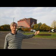 Robert Plimmer at Copthorne Roundabout, Slough, October 2015