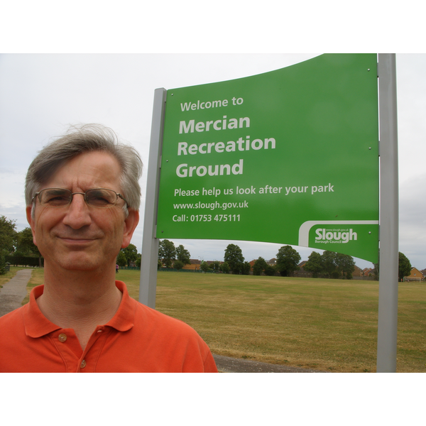 Robert Plimmer at Mercian Recreation Ground, Slough