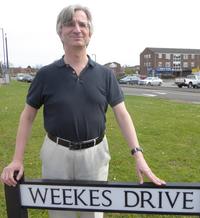 Robert Plimmer in Cippenham April 2016