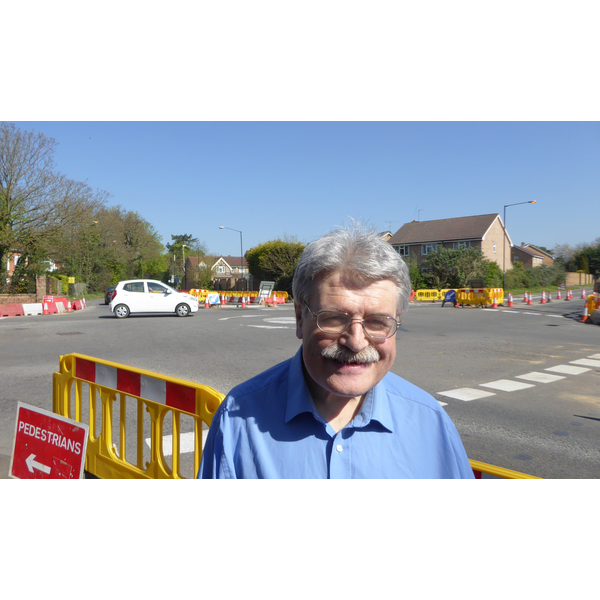 Gary Griffin at Five Points Junction, Slough