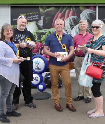 Tom McCann at Langley Harrow Market, May 2017