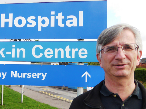 Robert Plimmer at Upton Hospital