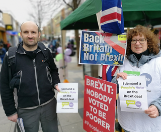 People's Vote campaign in Slough High Street 26 Jan 19