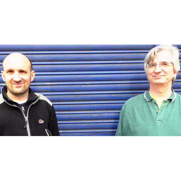 Matthew Taylor & Robert Plimmer highlighting closed shops on the High Street