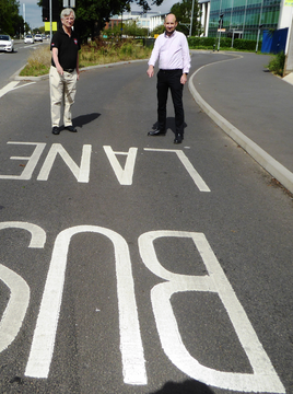 Bath Road Bus Lane-Robert Plimmer & Matthew Taylor call for proper consultation